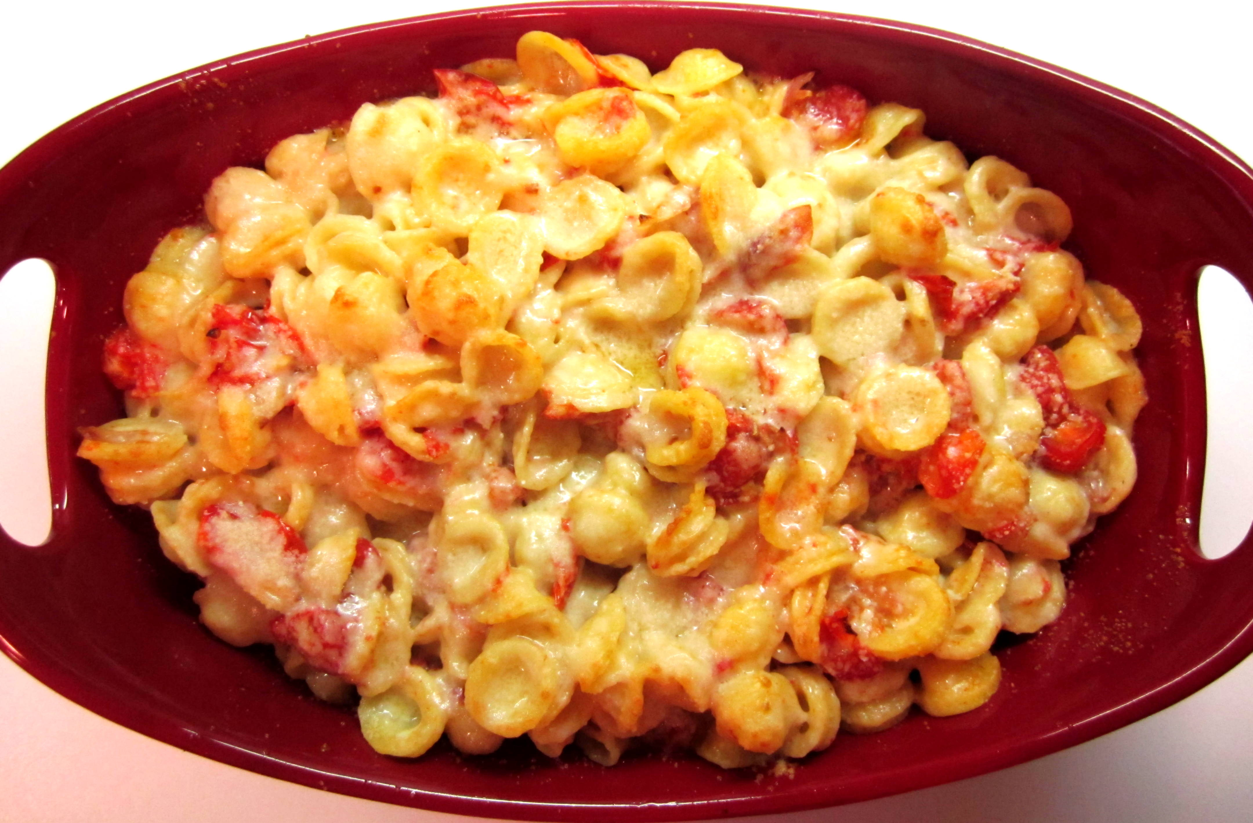 Baked Pasta With Tomatoes And Parmesan Recipe — Dishmaps