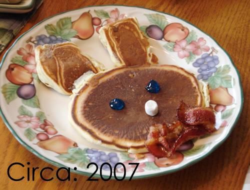 easterbunny pancake